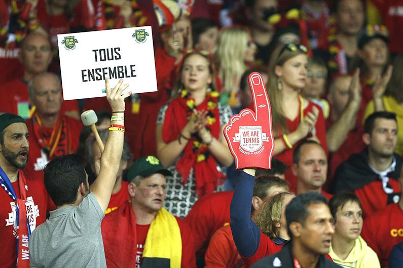 Belgische fans - © Philippe Buissin/ IMAGELLAN