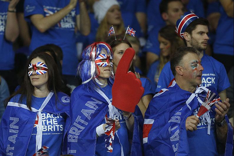 Britse Fans - © Philippe Buissin/ IMAGELLAN