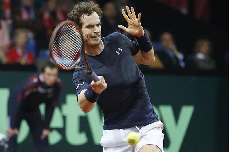 Andy Murray - © Philippe Buissin/ IMAGELLAN