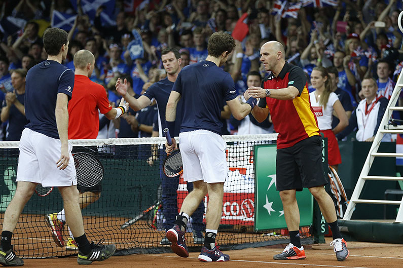 Davis Cup Dubbel - © Philippe Buissin/ IMAGELLAN