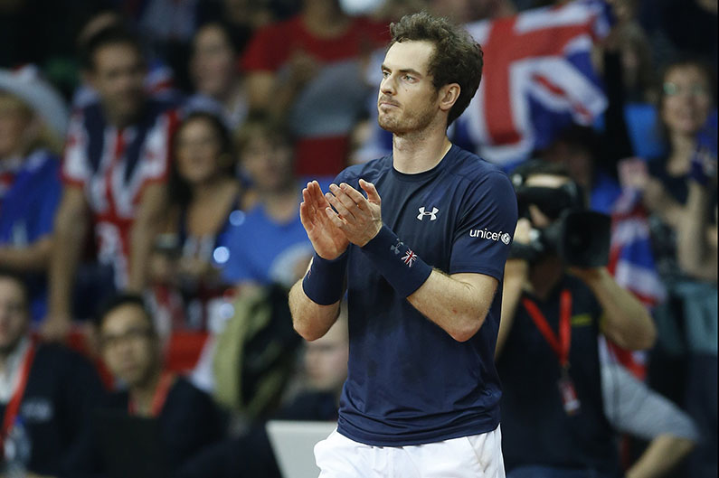 Andy Murray - © Philippe Buissin/ IMAGELLAN