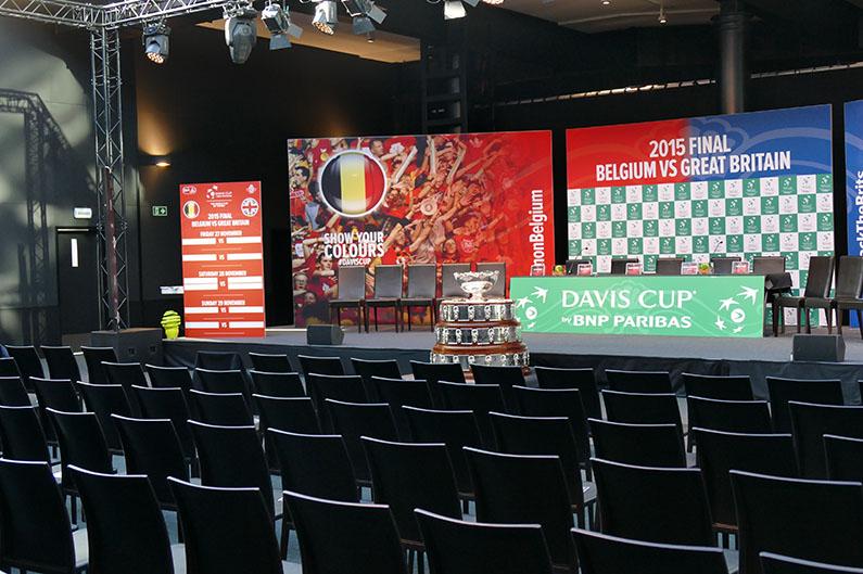 Davis Cup Loting - © Melissa Van de Wiele