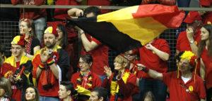 Belgische supporters - © Philippe Buissin/IMAGELLAN