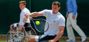 Joachim Gérard - © Richard Van Loon (tennisfoto.net)