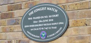 De langste wedstrijd op Wimbledon - © Bill Walsh (Flickr)