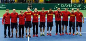 Belgisch Davis Cup-team - © Imagellan