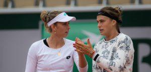 Elise Mertens en Aryna Sabalenka - © Jimmie48 Tennis Photography
