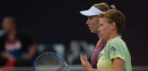 Elise Mertens en Demi Schuurs - © Jimmie48 Tennis Photography