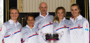 Het Tsjechische Fed Cup-team - © Jimmie48 Tennis Photography