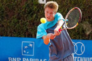 Arnaud Destrebecq - © Richard van Loon (www.tennisfoto.net)