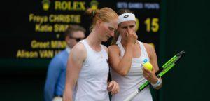 Alison Van Uytvanck en Greet Minnen - © Jimmie48 Tennis Photography