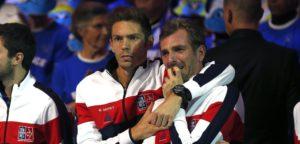 Nicolas Mahut & Julien Benneteau op Davis Cup 2017 in Rijsel - © IMAGELLAN
