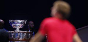 David Goffin Davis Cup 2017 in Rijsel - © IMAGELLAN