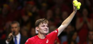 David Goffin Davis Cup 2017 in Rijsel - © IMAGELLAN