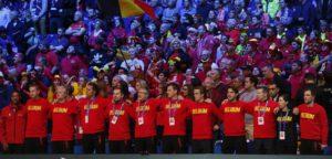 Belgische supporters in Rijsel - © IMAGELLAN