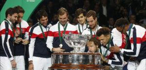 Ceremonie Davis Cupfinale 2017© IMAGELLAN