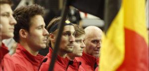 Het Belgische Davis Cup-team - © IMAGELLAN