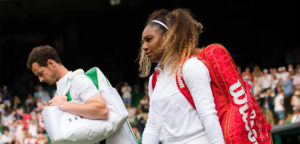 Serena Williams en Andy Murray - © Jimmie48 Tennis Photography