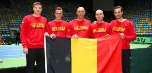 Belgisch Davis Cup-team - © Mirko Hannemann (Public Address)