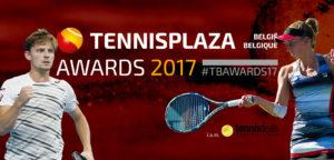 Tennisplaza België/Belgique Awards 2017 - © Tennisplaza Group