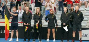 Het Belgische Fed Cup-team - © Thomas Zwijsen