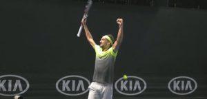 Ruben Bemelmans - © YouTube Australian Open