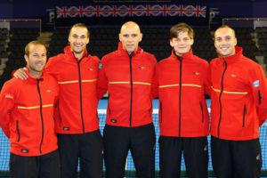 Belgische Davis Cup-ploeg - © Tennis Vlaanderen