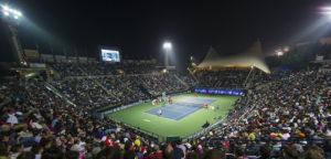Dubai tennis stadion - © Dubai Duty Free Tennis Championships