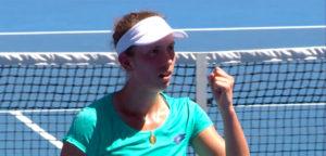 Elise Mertens - © YouTube Australian Open