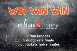 Tennisplaza België wedstrijd Ethias Trophy 2015