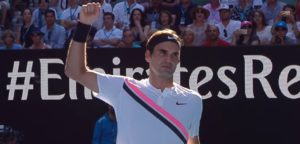 Roger Federer - © YouTube Australian Open