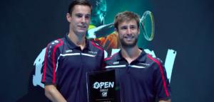 Sander Gillé en Joran Vliegen - © ATP Challenger Brest (Twitter)