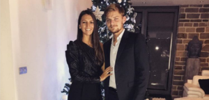 David Goffin en Stéphanie Tuccitto - © Stephanie Tuccitto (Instagram)