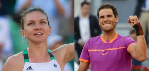 Simona Halep en Rafael Nadal - © Jimmie48 Tennis Photography en Christopher Levy (www.flickr.com)