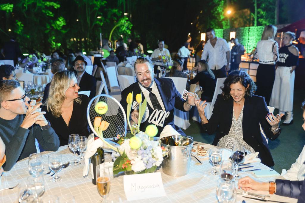 Kim Clijsters en Garbiñe Muguruza - © Dubai Duty Free Tennis Championships