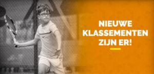 Klassementen - © Tennis Vlaanderen