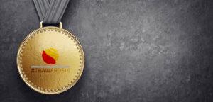 Gouden medaille - © AlexandrMoroz (iStock)
