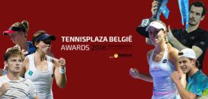 Tennisplaza België Awards 2016 laureaten - © Tennisplaza België