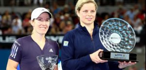 Justine Henin en Kim Clijsters - © Youtube