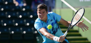 Milos Raonic - © Christopher Levy (flickr)