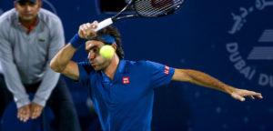 Roger Federer - © Dubai Duty Free Tennis Championships