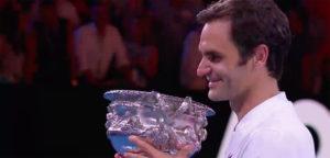 Roger Federer - © YouTube Australian Open
