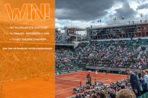 Tennisplaza België wedstrijd Roland Garros 2014
