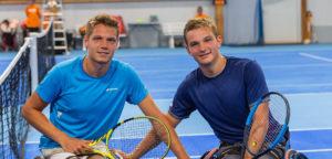 Ruben Spaargaren en Jef Vandorpe - © Franz (Austrian Open)