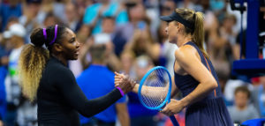Serena Williams en Maria Sharapova - © Jimmie48 Tennis Photography