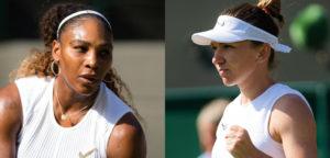Serena Williams en Simona Halep - © Jimmie48 Tennis Photography