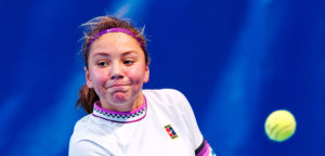 Sofia Costoulas - © Richard van Loon (tennisfoto.net)