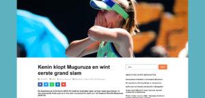 Tennisplaza nieuwe website - © Tennisplaza