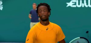 Gaël Monfils in Tennis World Tour - © Tennis World Tour