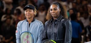 Naomi Osaka en Serena Williams - © Jimmie48 Tennis Photography